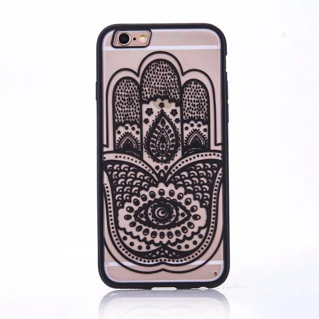 Henna Hand case for iPhone2 - Mandala Hand - iPhone 6/6+/6S/6S+/7/7+