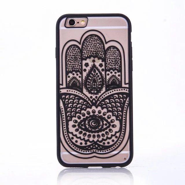 Henna Hand case for iPhone2 - Mandala Hand - iPhone 6/6+/6S/6S+/7/7+