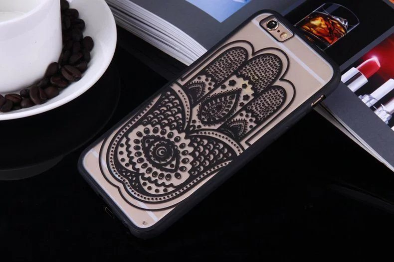 Henna Hand case for iPhone3 - Mandala Hand - iPhone 6/6+/6S/6S+/7/7+