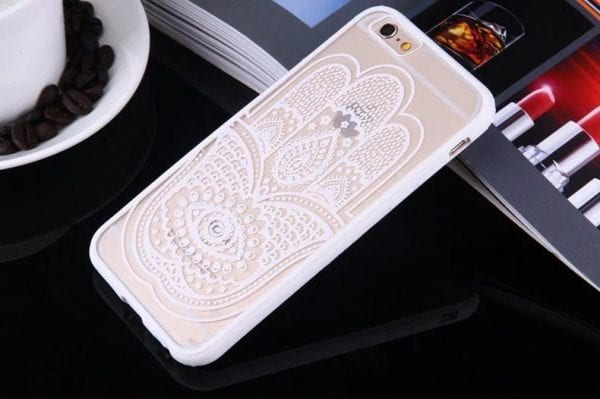 Henna Hand case for iPhone5 600x399 - Mandala Hand - iPhone 6/6+/6S/6S+/7/7+