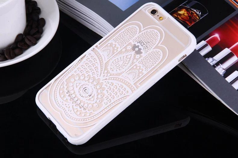 Henna Hand case for iPhone5 - Mandala Hand - iPhone 6/6+/6S/6S+/7/7+