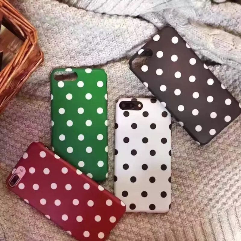 PokkaDot Case iPhone3 - Polka Dot Case - iPhone 6/6+/6S/6S+/7/7+