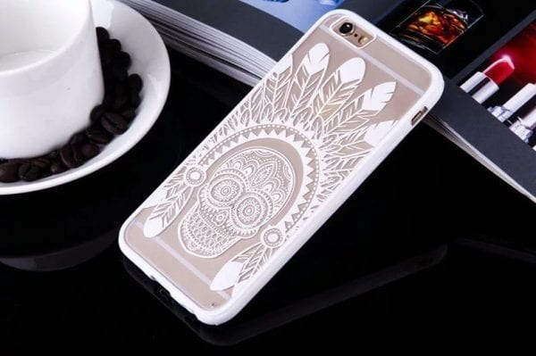 Skull case for iPhone1 600x399 - Skull - iPhone 6/6+/6S/6S+/7/7+
