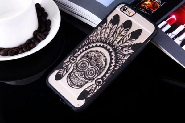 Skull case for iPhone2 600x399 - Skull - iPhone 6/6+/6S/6S+/7/7+