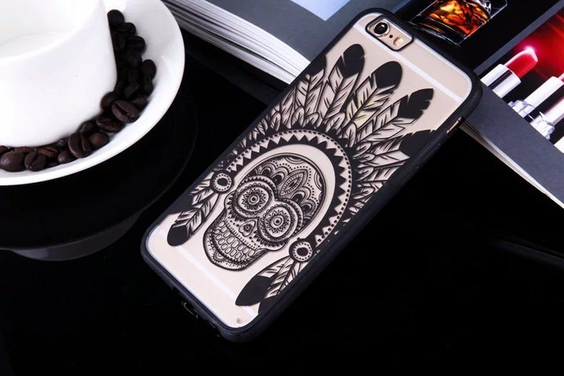 Skull case for iPhone2 - Skull - iPhone 6/6+/6S/6S+/7/7+
