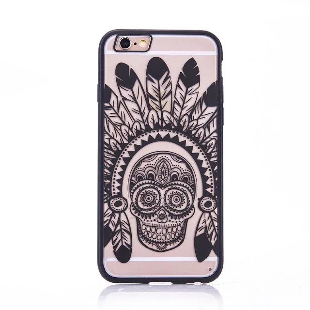 Skull case for iPhone5 - Skull - iPhone 6/6+/6S/6S+/7/7+