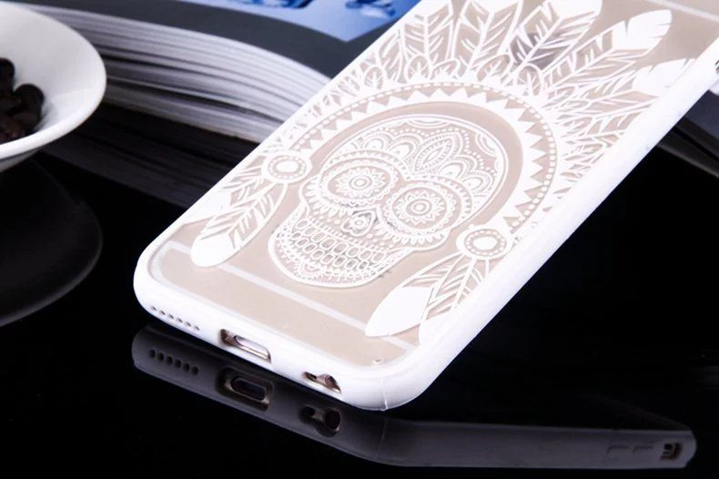 Skull case for iPhone7 - Skull - iPhone 6/6+/6S/6S+/7/7+