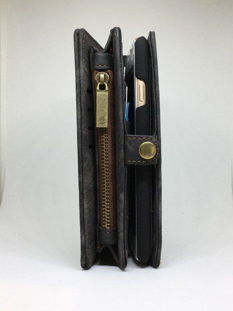 Swade Purse Case iPhone1 e1492456971280 - Suede Purse 2in1 Case - iPhone 6/6+/6S/6S+/7/7+