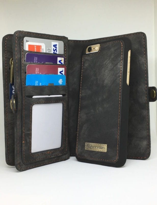official photos dbb14 9bc3f Suede Purse 2in1 Case - iPhone 6/6+/6S/6S+/7/7+