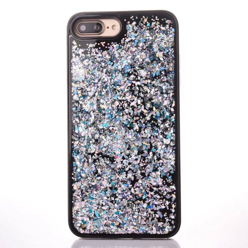 iPhone 7 Floating Glitter Case4 - Falling Glitter - iPhone 6/6+/6S/6S+/7/7+
