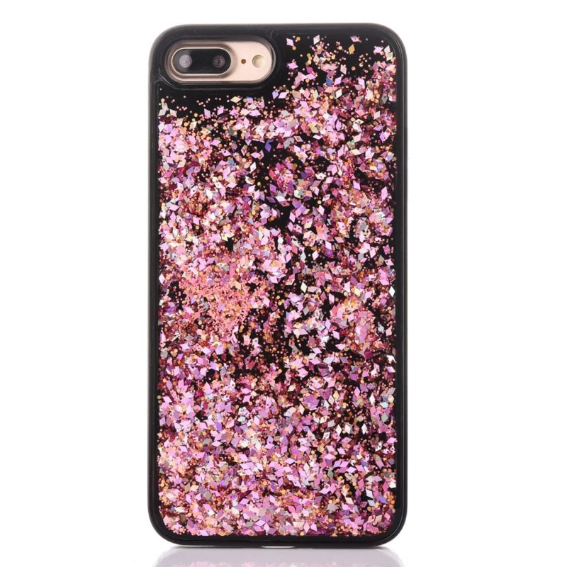 iPhone 7 Floating Glitter Case5 - Falling Glitter - iPhone 6/6+/6S/6S+/7/7+
