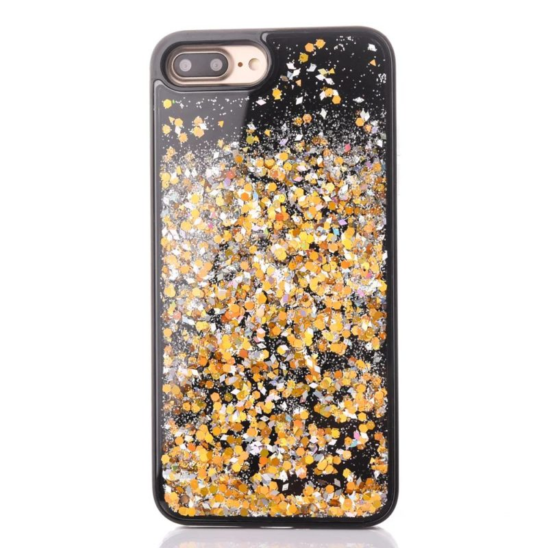 iPhone 7 Floating Glitter Case6 - Falling Glitter - iPhone 6/6+/6S/6S+/7/7+