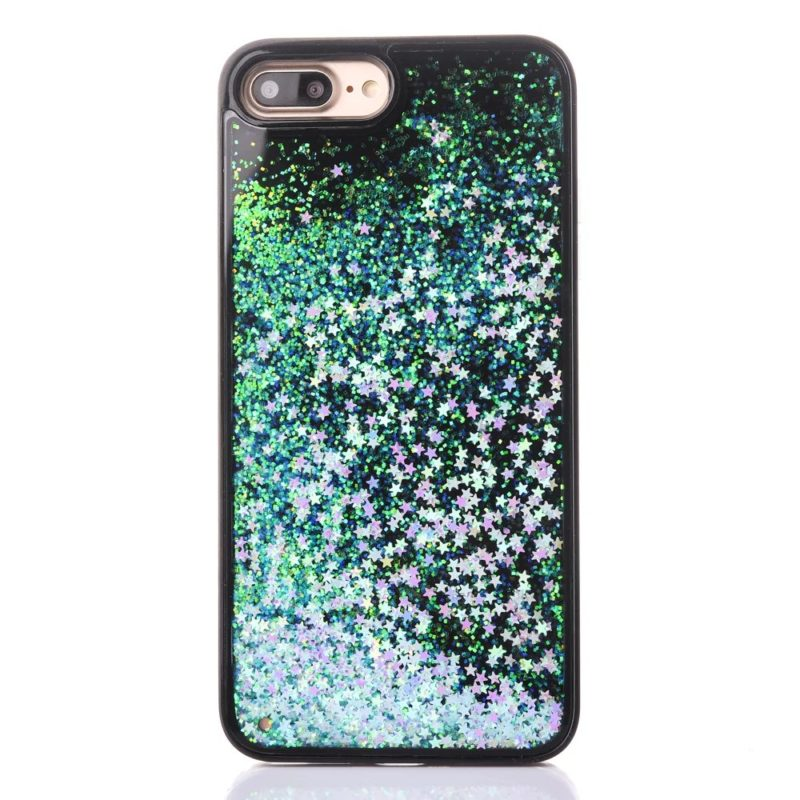 iPhone 7 Floating Glitter Hearts Case4 - Falling Stars - iPhone 6/6+/6S/6S+/7/7+