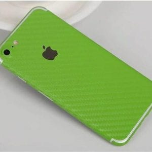 iPhone foil wrap Carbon TPS12 300x300 - Foil Wrap Carbon Green - iPhone 6/6+/6S/6S+/7/7+
