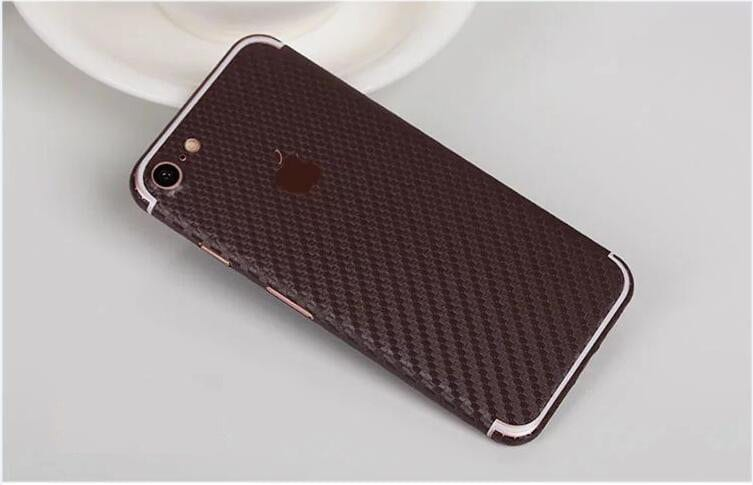 iPhone foil wrap Carbon TPS7 - Foil Wrap Carbon - iPhone 6/6+/6S/6S+/7/7+