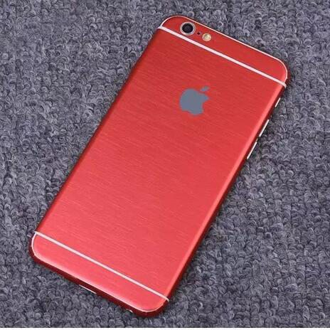 iPhone foil wrap TPS2 - Foil Wrap Brushed Metal - iPhone 6/6+/6S/6S+/7/7+