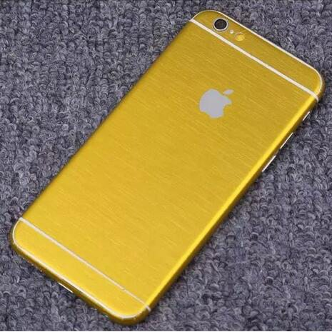 iPhone foil wrap TPS3 - Foil Wrap Brushed Metal - iPhone 6/6+/6S/6S+/7/7+