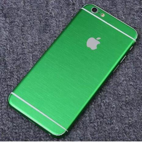 iPhone foil wrap TPS4 - Foil Wrap Brushed Metal - iPhone 6/6+/6S/6S+/7/7+