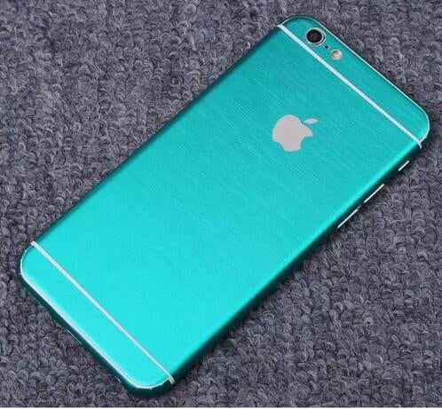iPhone foil wrap TPS5 - Foil Wrap Brushed Metal - iPhone 6/6+/6S/6S+/7/7+