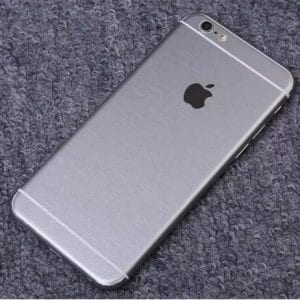 iPhone foil wrap TPS6 300x300 - Foil Wrap Brushed Metal - iPhone 6/6+/6S/6S+/7/7+