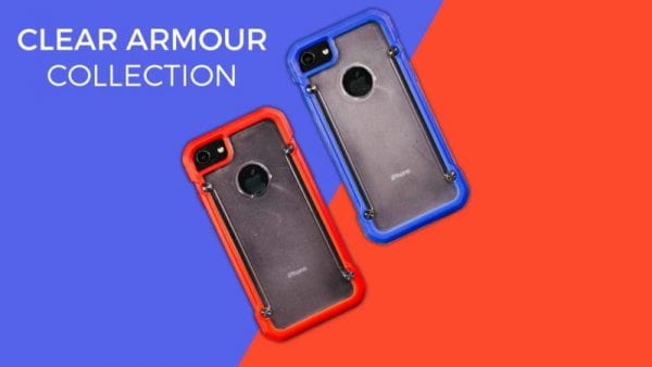 Clear Armour phone cases