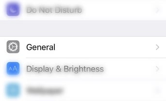 Go to the Settings app and tap on General 2 - TPS Tech Tips: How to Enable iPhone Reachability
