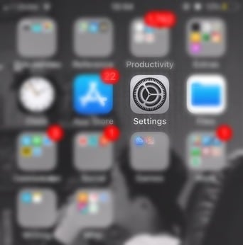 Go to the Settings app and tap on General - TPS Tech Tips: How to Enable iPhone Reachability